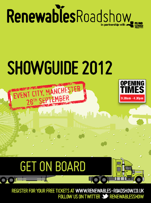 Renewables Roadshow 2012 Show Guide - Manchester