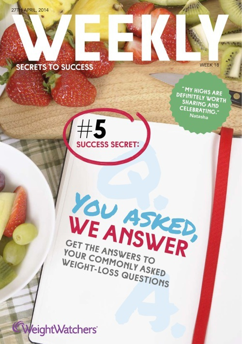 Weight Watchers Weekly Issue 18