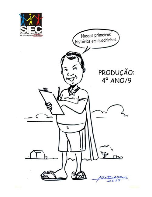 Revista em Quadrinhos - 4º Ano/9 - SIEC