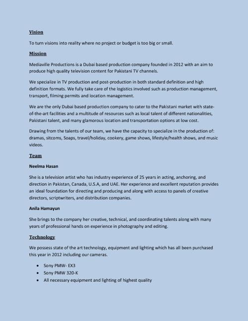 MediaVille Company Profile