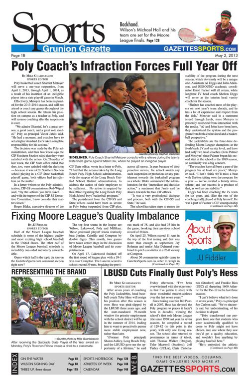 Gazette Sports | May 2, 2013