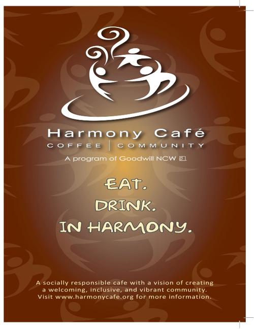 Harmony Cafe - Fox Valley Menu