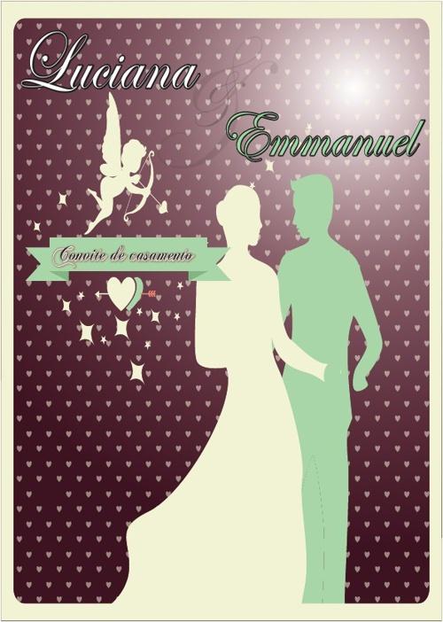 convite de casamento do emanuel