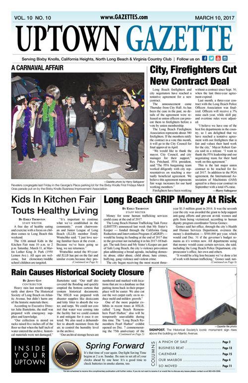 Uptown Gazette     March 10, 2017