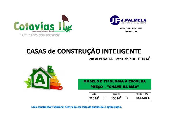 COTOVIAS II - Casas de Construção Inteligente