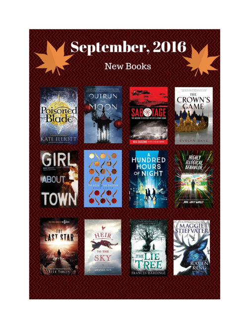 New Books September 2016