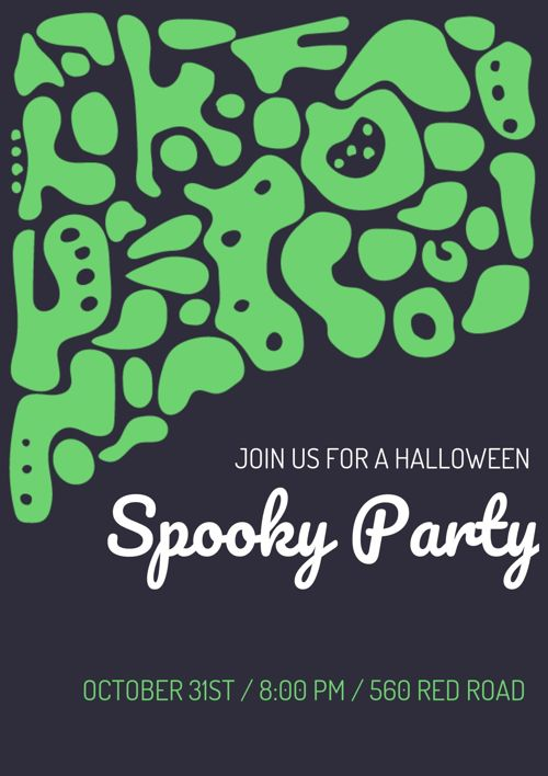 Spooky Party Flyer