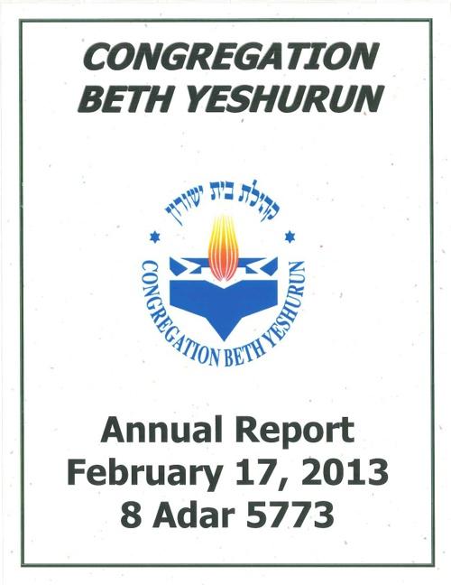 2012-2013 CBY Annual Report