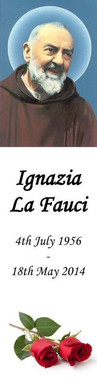 Bookmark for Ignazia La Fauci