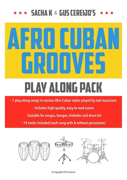 Afro Cuban Grooves Play Along Pack SAMPLE