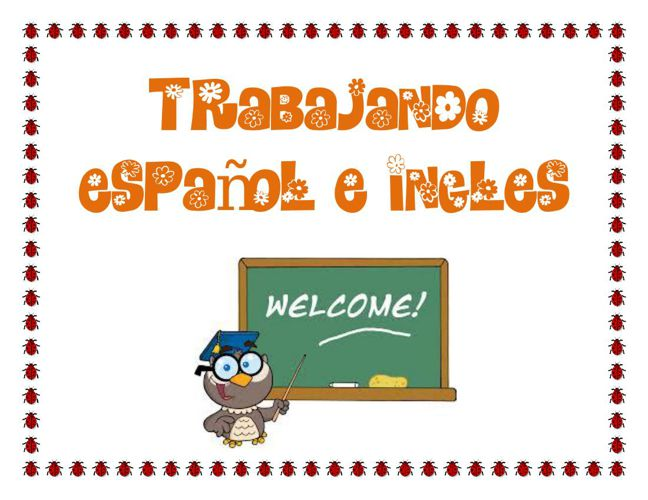 Trabajando español e ingles