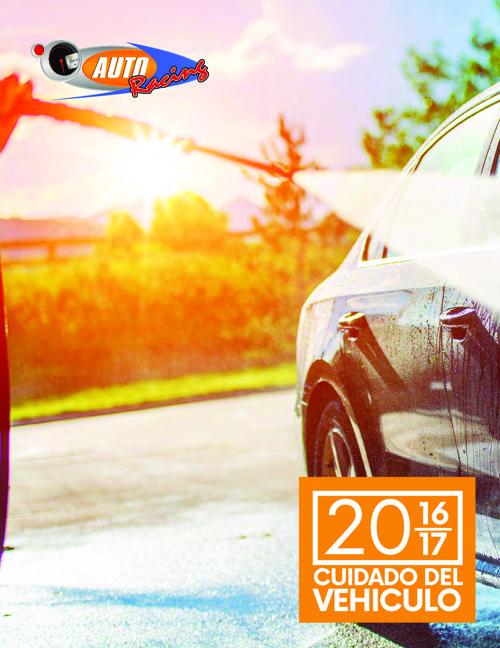 CATALOGO 2016/2017 ACCESORIOS PARA CAR WASH