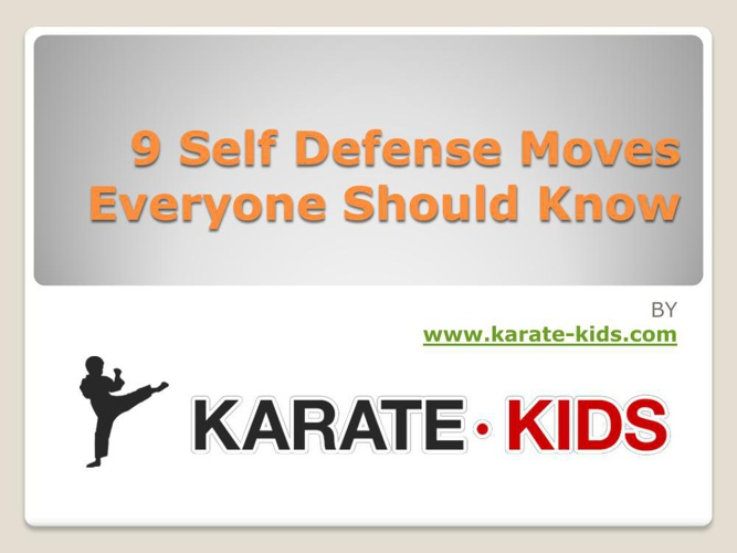9 Self Defense Moves Everyone Should Know