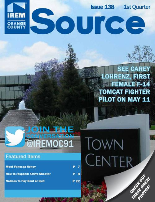 IREM OC_The SOURCE Newsmagazine_Q1_2016