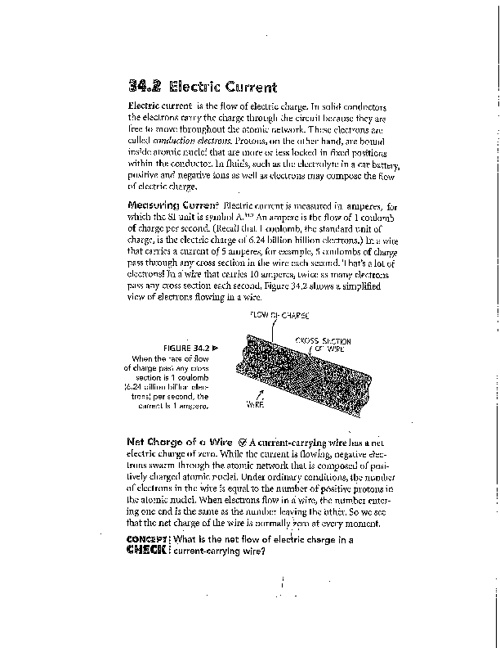 ConPhys 34-2  Electric Current