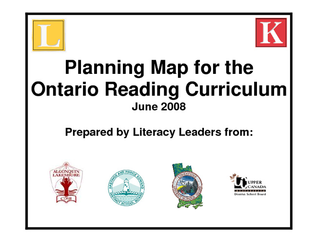 Reading Planning Map
