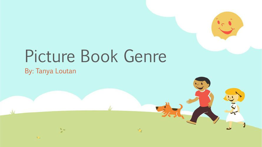 Picture Book Genre Flipbook