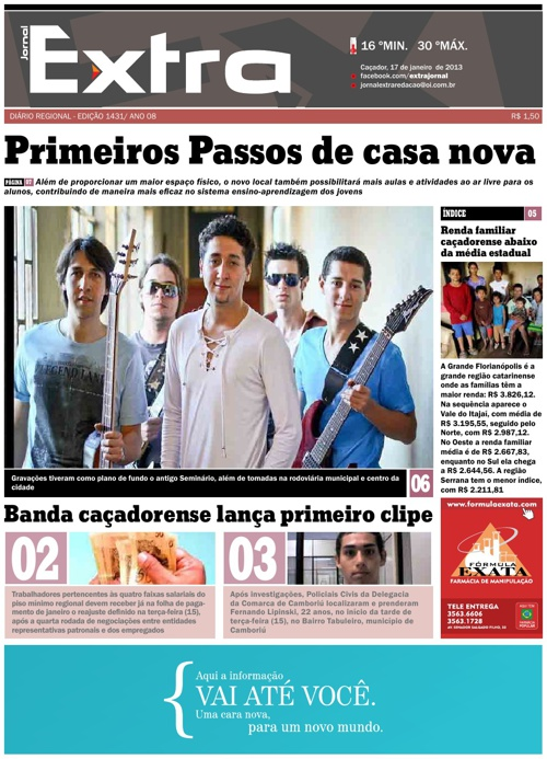 Jornal Extra 17/01/2012