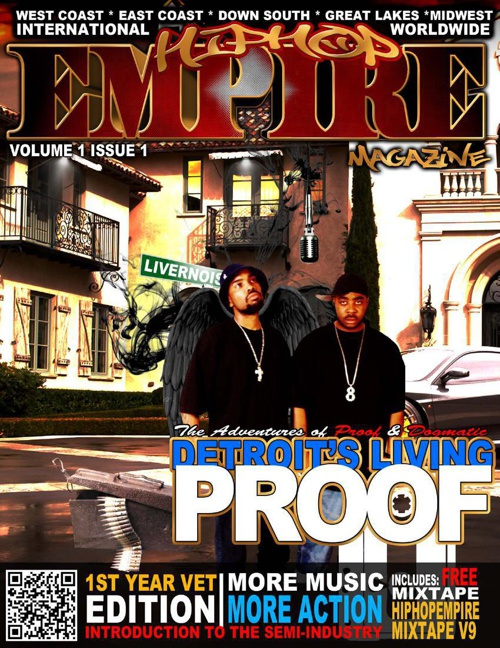 Issue 1 Living Proof