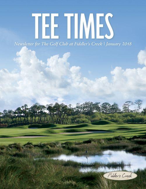 Tee Times January 2018