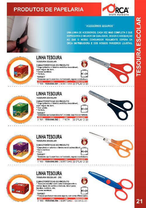 Catálogo Orca Distribuidora - Papelaria