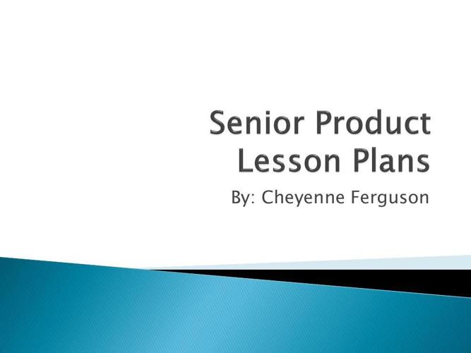 Chey's Senior Product
