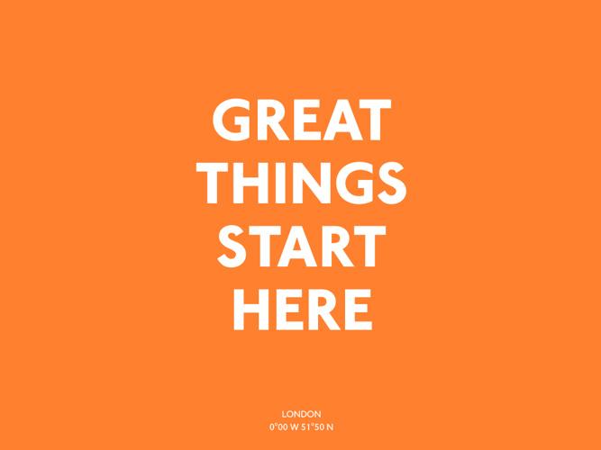 Where Great Things Start