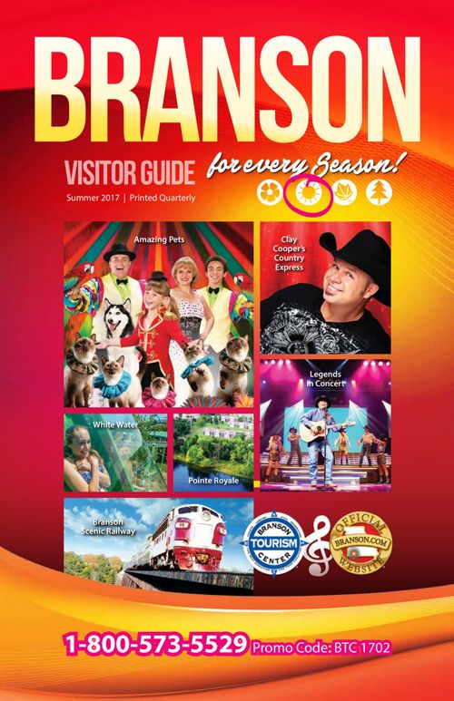 Branson Visitor Guide Summer 2017