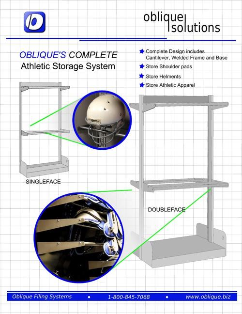 Oblique's Athletic Storage