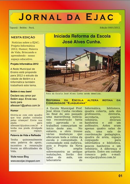 Jornal da Ejac 001