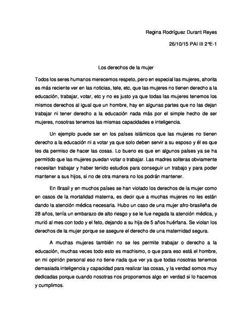 Regina Rodríguez Durant Reyes 2°E-1 Articulo Argumentativo