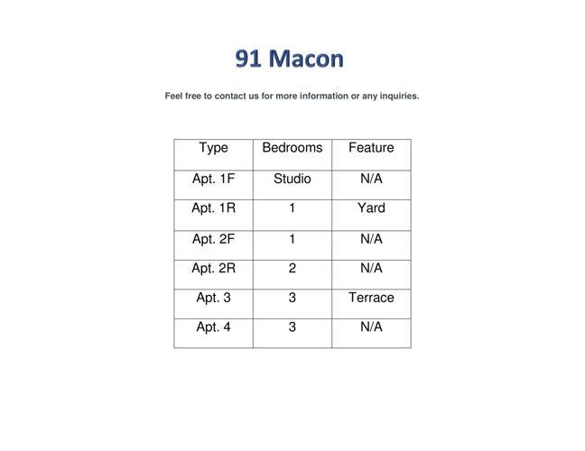 91 Macon