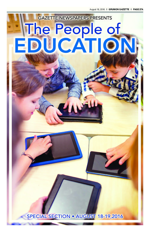 Education Section | 8-18-16