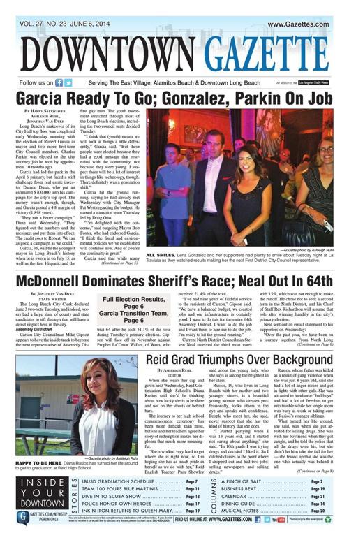 Downtown Gazette 6/6/14