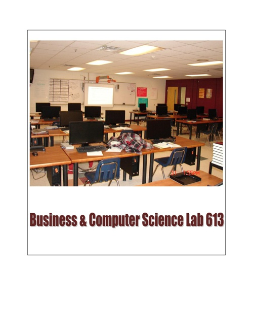 Business and Computer Science Labs