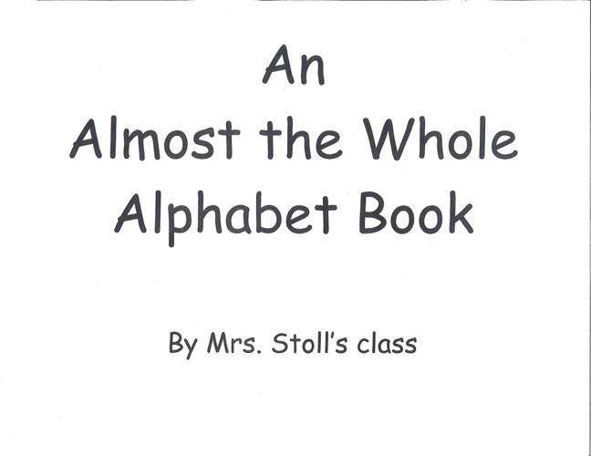 Alphabet Book - Stoll