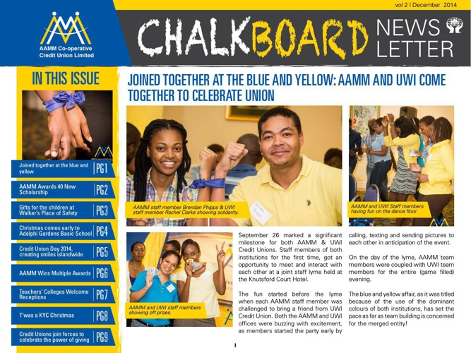 AAMM 2014-15 Newsletter Issue#2