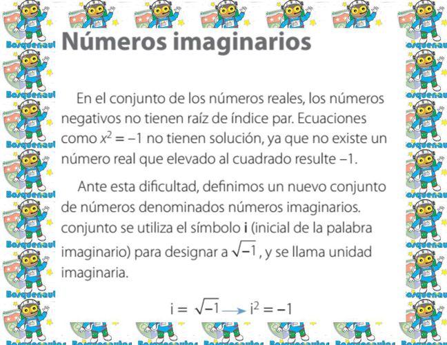 Números Imaginarios