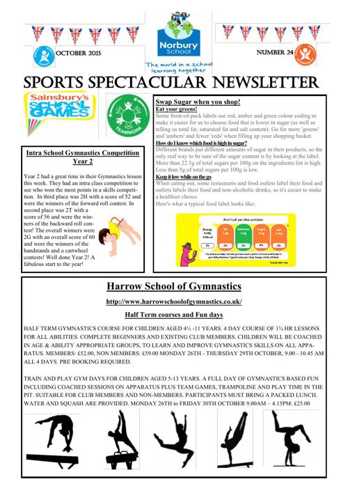Sports Newsletter Number 24