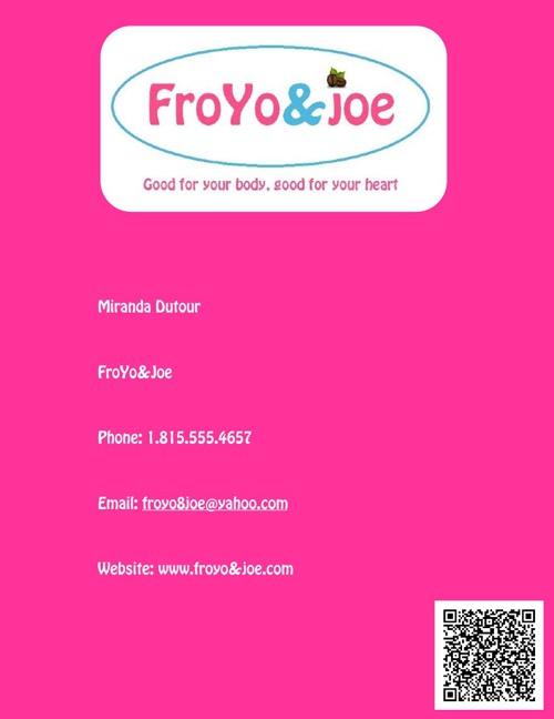 FroYo&Joe