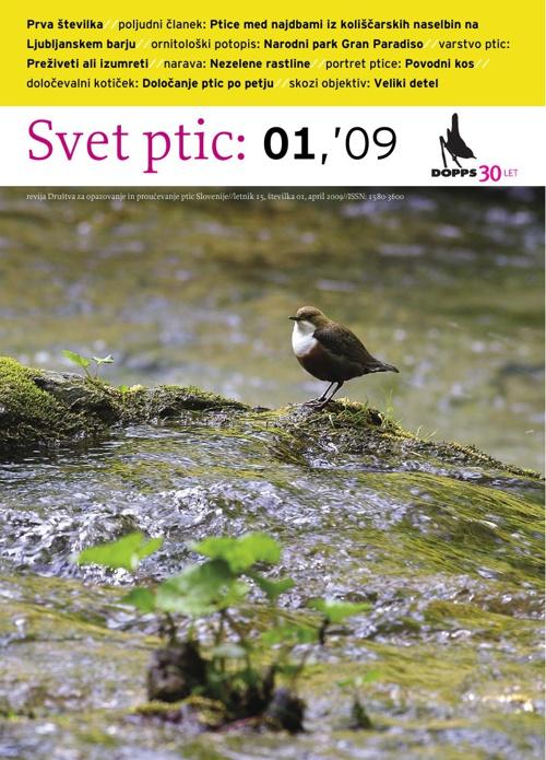 Svet ptic 01'09
