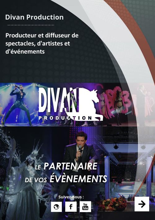 Catalogue artistique Divan Production