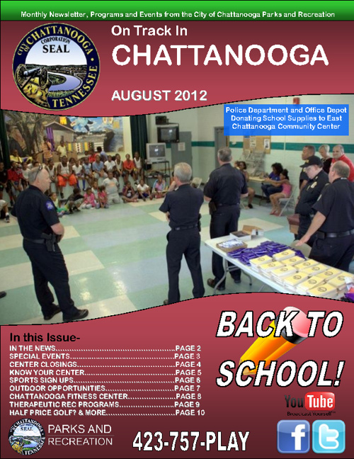 August Edition of On Track in Chattanooga! Full of events!