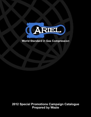 Ariel Corporation Special Promotions Catalogue