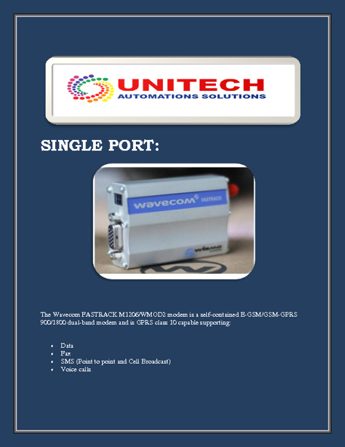UNITECH AUTOMATIONS SOLUTIONS