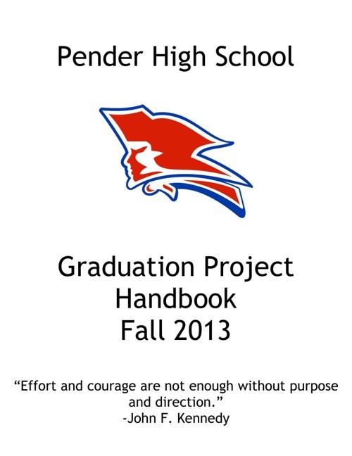 English 12 Graduation Project Fall 2013
