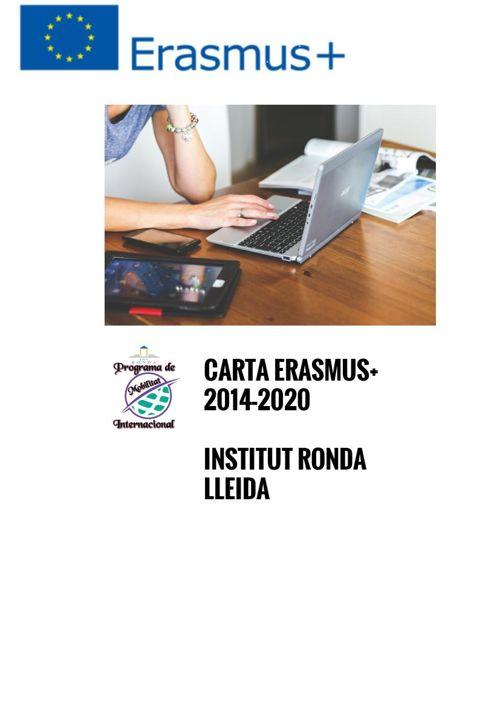 CARTA ERASMUS+ INS RONDA