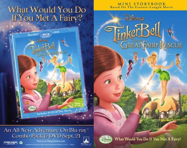 Katie's Tinkerbell book