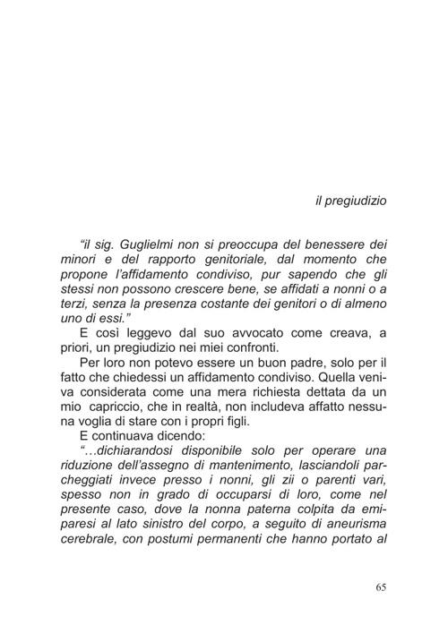 """capitolo 5 - """"il pregiudizio"""" (diario di un atto d'amore)"""