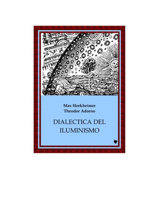 Dialectica del iluminismo